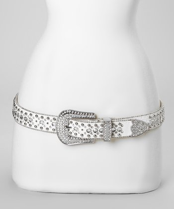 White Jewel Road Belt