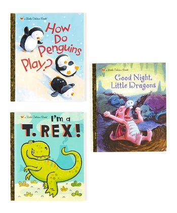 Dinosaurs, Penguins & Dragons Hardcover Set
