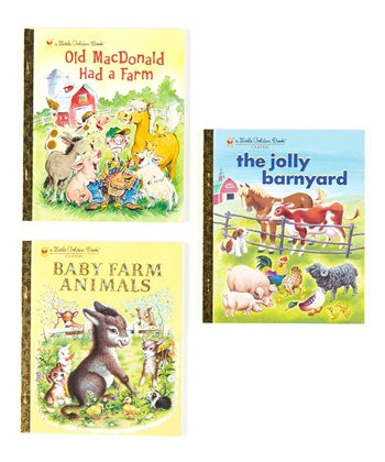 Baby Farm Animals Hardcover Set
