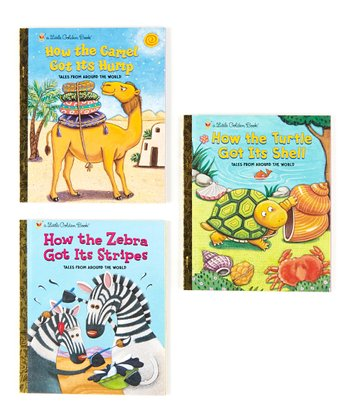 How the Turtle, Camel & Zebra Hardcover Set