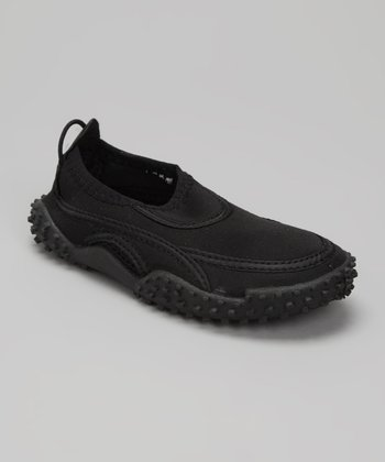 Black Slip-On Water Shoe