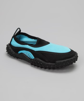 Light Blue Slip-On Water Shoe