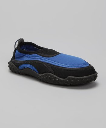 Royal Blue Slip-On Water Shoe