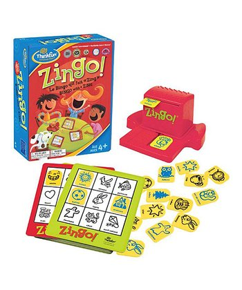 Bilingual Zingo! French Game