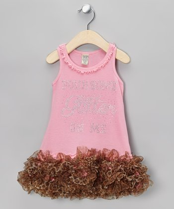 Pink Leopard 'Glitter' Tutu Dress - Infant, Toddler & Girls