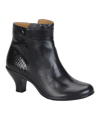 Black Sherry Ankle Boot