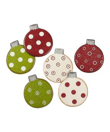 Merry & Bright Bulb Magnet Set
