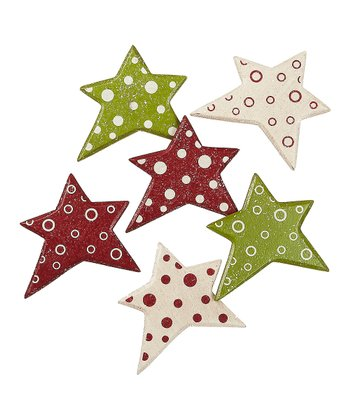 Merry & Bright Star Magnet Set