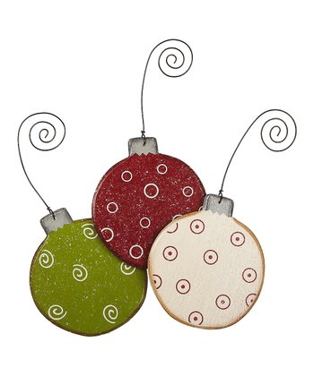Merry & Bright Small Bulb Ornament Set