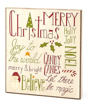 Christmas Magic Box Sign