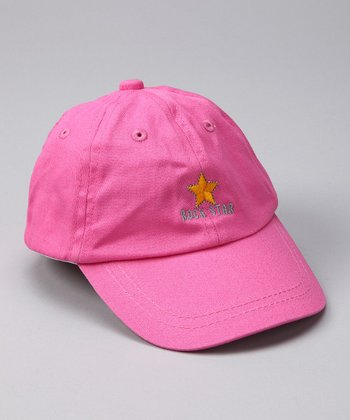 Pink 'Rock Star' Baseball Hat