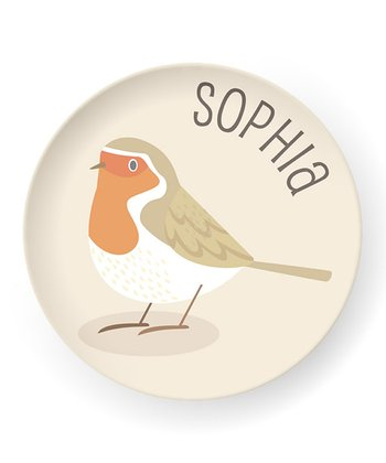 Bird Personalized Plate