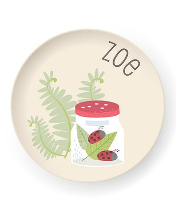 Ladybugs Personalized Plate