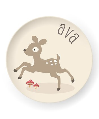 Deer Personalized Plate