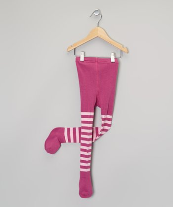 Pink Stripe Tights - Infant & Toddler