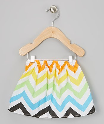 Rainbow Zigzag Skirt - Infant, Toddler & Girls