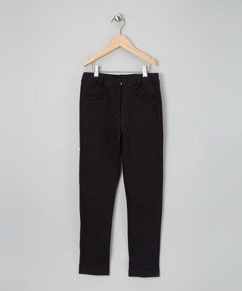 Black Riding Pants - Girls