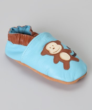 Blue Monkey Bootie
