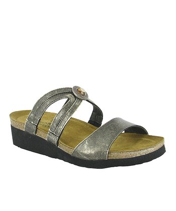 Metal Celine Slide - Women