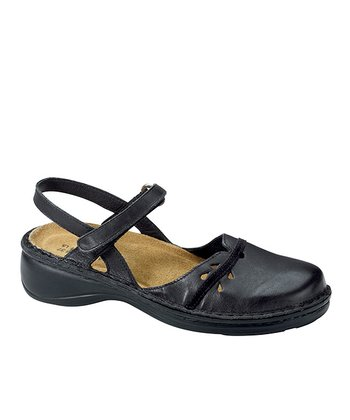 Black Gardenia Closed-Toe Sandal - Women