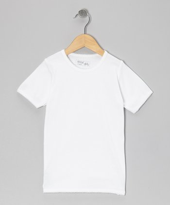 White Tee - Infant, Toddler & Girls