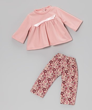 Pink Doll Pajama Set