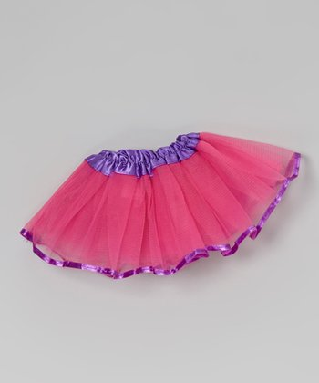 Hot Pink & Purple Doll Tutu