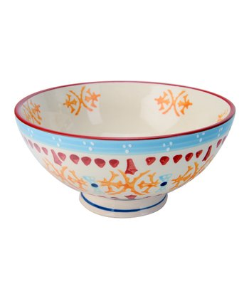Sky Blue Global 6'' Bowl - Set of Four