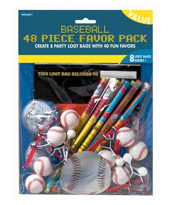 Championship Baseball Favor Set