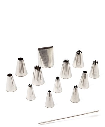 Assorted Pastry Decorating Tip Set