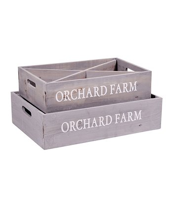 Gray 'Orchard' Tea Box Set