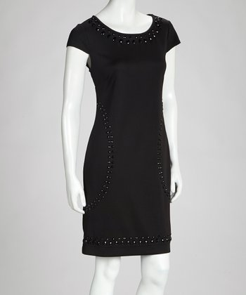 Black Stud Dress
