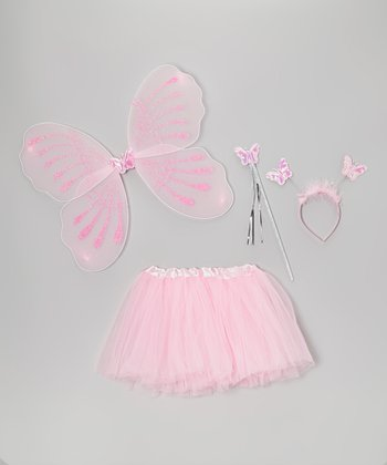 Light Pink Fairy Wing Set - Toddler & Girls