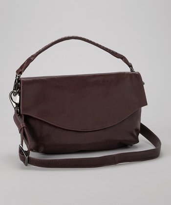 Aubergine Lotte Shoulder Bag