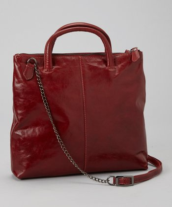 Red Gia Crossbody Bag