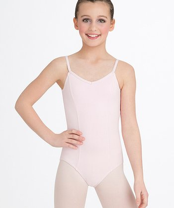 Light Pink Princess Seam Leotard - Toddler & Girls