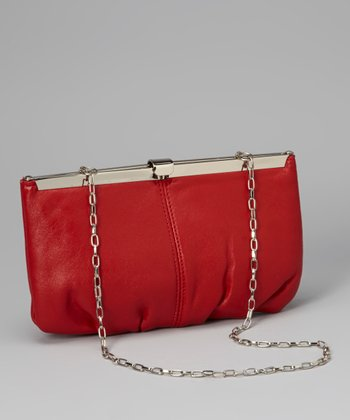 Red Chain Clutch