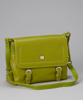 Apple Flap Shoulder Bag