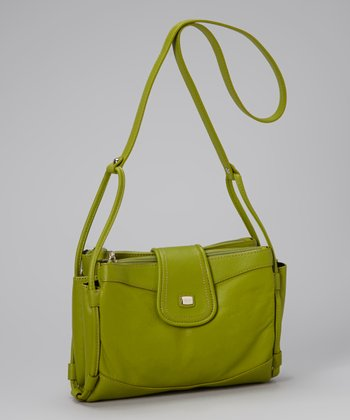 Apple Organizer Crossbody Bag