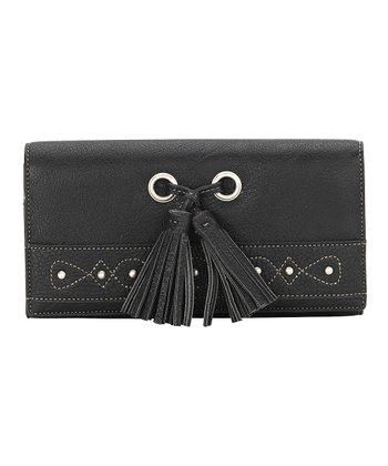 Black Tassel Wallet