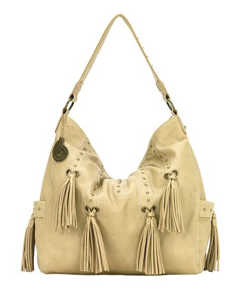 Harvest Gold Tassel Hobo
