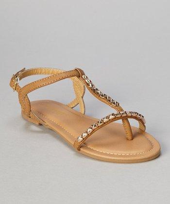 Khaki Stud Bear Sandal