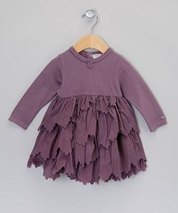 Lilac Ruffle Dress - Infant & Toddler