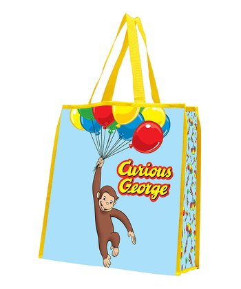 Curious George Shopping Tote- Set of Two