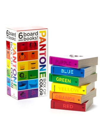 Pantone: Box of Color Board Book Set