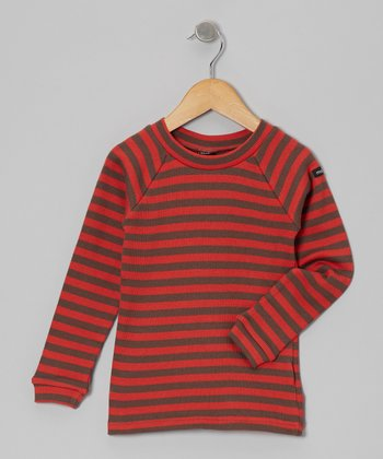 Red Stripe Tee - Toddler & Kids
