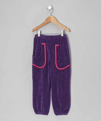 Purple Pocket Sweatpants - Toddler & Girls