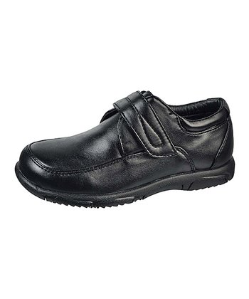 Black Adjustable Dress Shoe