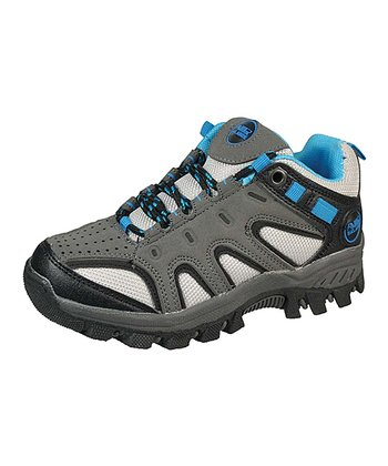 Dark Gray & Blue All-Terrain Sneaker