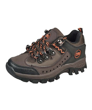 Brown & Orange All-Terrain Sneaker